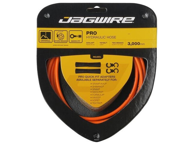 Jagwire Pro Hydraulic Câble de frein, orange